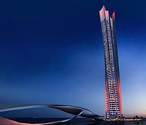 La plus haute tour en forme de spirale est duba voyages bergeron - Hauteur plus grande tour dubai ...