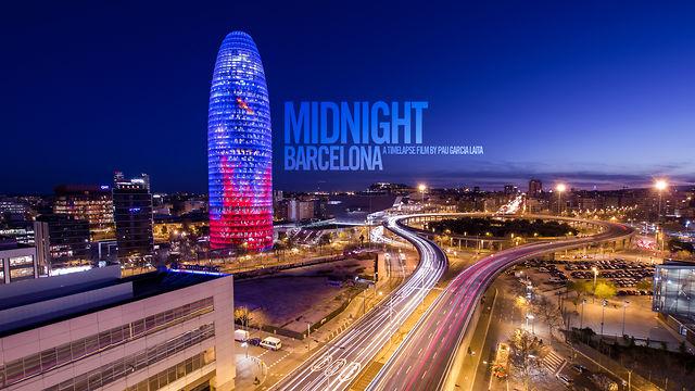 Barcelone de nuit en time lapse voyages bergeron for Noche hotel barcelona