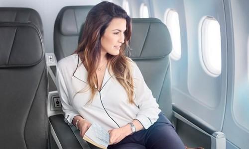 Choisir le bon si ge en avion voyages bergeron for 1ere classe salon