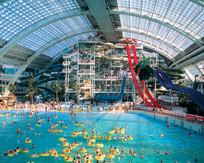 Top 10 des parcs aquatiques dans le monde voyages bergeron for Glissade interieur