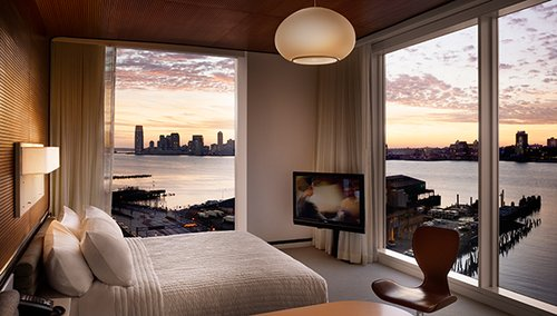 7 htel the standard hotel new york tats unis - Les Plus Belle Chambre
