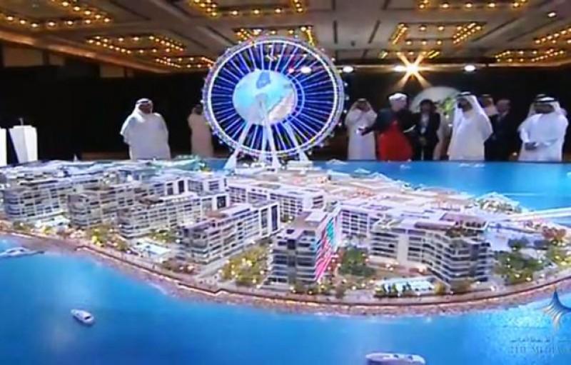Une nouvelle île artificielle à Dubaï