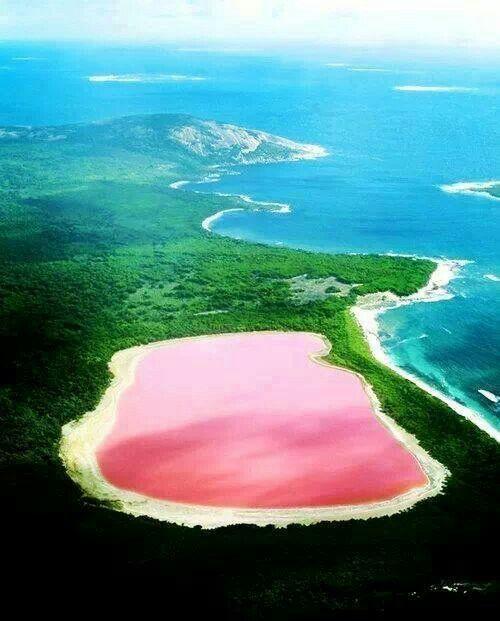 Le mystère du lac rose!