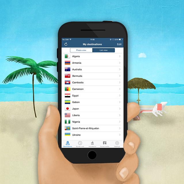 Voyagez-vous avec votre cellulaire ou avec votre tablette?